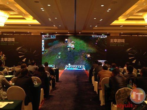视界精品 主宰游戏 nVIDIA GTX750系列显卡在蓉发布