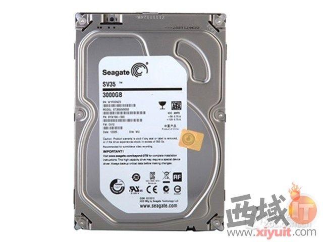 大容量高转速 希捷3T硬盘成都报789元